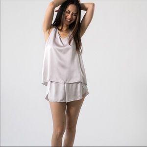 Lunya Washable Silk Pajama Set